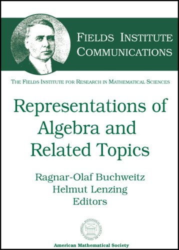 Representations of Algebras and Related Topics (Fields: Amer Mathematical Society