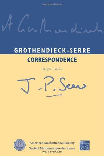 9780821834244: Grothendieck-Serre Correspondence: Bilingual Edition (amsns AMS non-series title)
