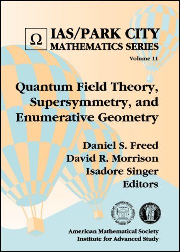 Quantum Field Theory, Supersymmetry, and Enumerative Geometry (Hardback)