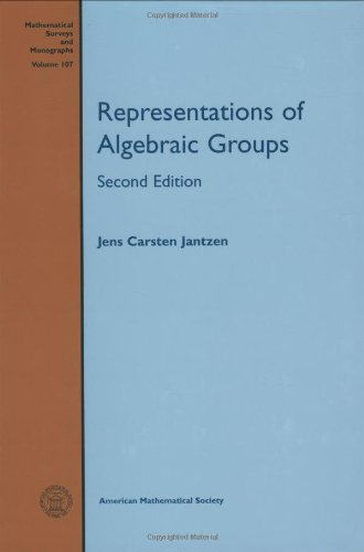 9780821835272: Representations of Algebraic Groups: Second Edition