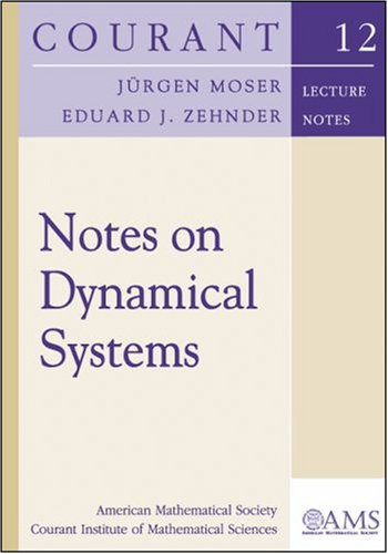 9780821835777: Notes on Dynamical Systems (Courant Lecture Notes)