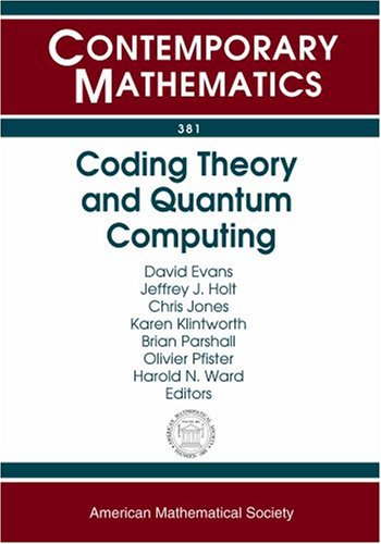9780821836002: Coding Theory and Quantum Computing