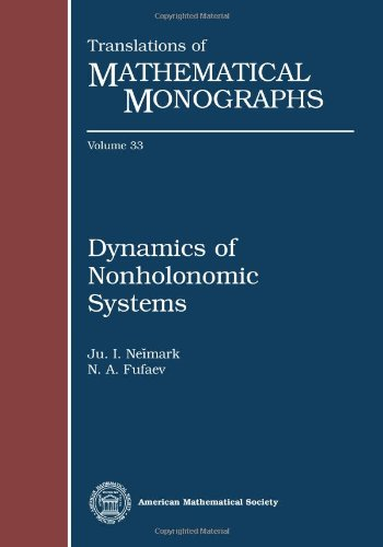 9780821836170: Dynamics of Nonholonomic Systems (Translations of Mathematical Monographs, V. 33)