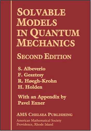 Solvable Models In Quantum Mechanics With Appendix: Amer Mathematical Society