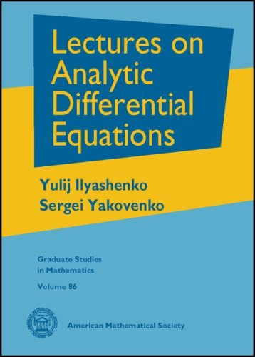 9780821836675: Lectures on Analytic Differential Equations (Graduate Studies in Mathematics)
