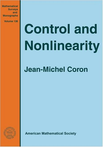 9780821836682: Control and Nonlinearity (Mathematical Surveys and Monographs)