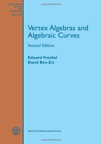 9780821836743: 88: Vertex Algebras and Algebraic Curves (Mathematical Surveys and Monographs) (Mathematical Surveys & Monographs)