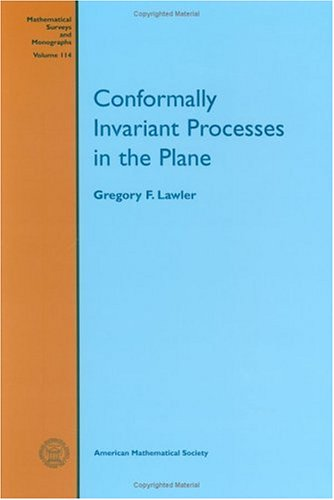 9780821836774: Conformally Invariant Processes in the Plane (Mathematical Surveys and Monographs) (Mathematical Surveys & Monographs)