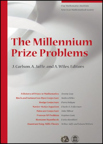 9780821836798: The Millennium Prize Problems