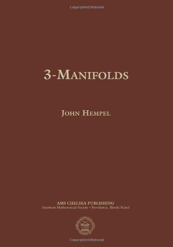 9780821836958: 3-Manifolds (AMS Chelsea Publishing)