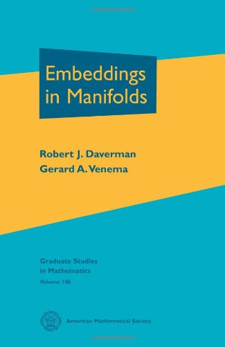 9780821836972: Embeddings in Manifolds (Graduate Studies in Mathematics)
