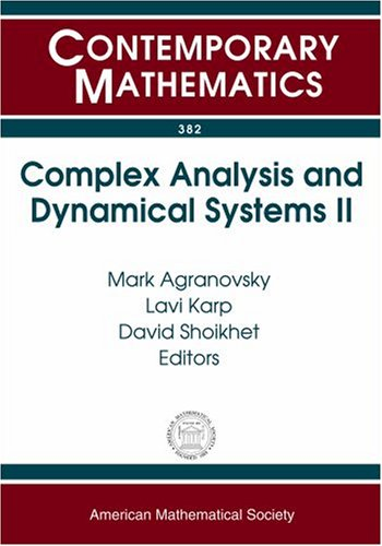 Complex Analysis And Dynamical Systems II: A: M. L. Agranovskii,