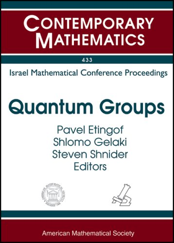 Quantum Groups: Israel Mathematical Conference Proceedings, Proceedings: Joseph Donin