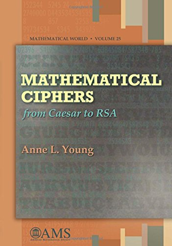 9780821837306: Mathematical Ciphers: From Caesar to RSA (Mathematical World)