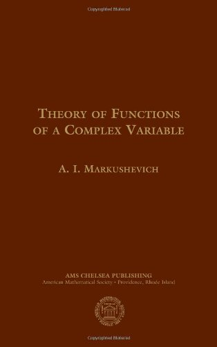 9780821837801: Theory of Functions of a Complex Variable: Second Edition (AMS Chelsea Publishing)