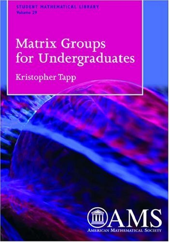 9780821837856: Matrix Groups for Undergraduates (Student Mathematical Library,)