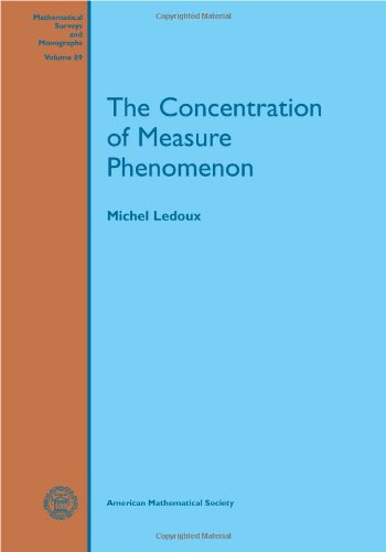 9780821837924: The Concentration of Measure Phenomenon (Mathematical Surveys & Monographs)
