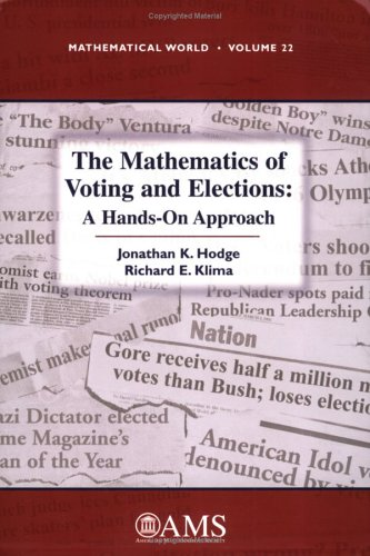 9780821837986: The Mathematics of Voting and Elections: A Hands-On Approach (Mathematical World)
