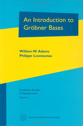 9780821838044: An Introduction to Gr�bner Bases