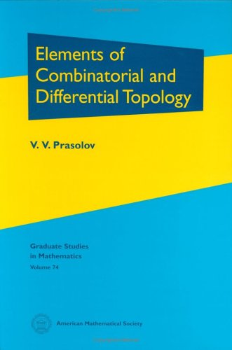 9780821838099: Elements of Combinatorial and Differential Topology