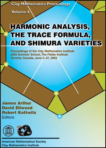 Harmonic Analysis, the Trace Formula, and Shimura: Amer Mathematical Society