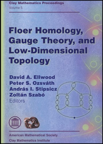 9780821838457: Floer Homology, Gauge Theory, and Low Dimensional Topology: Proceedings of the Clay Mathematics Institute 2004 Summer School, Alfred Renyi Institute of Mathematics, Budapest, Hungary, June 5-26, 2004 (Clay Mathematics Proceedings, Vol. 5)