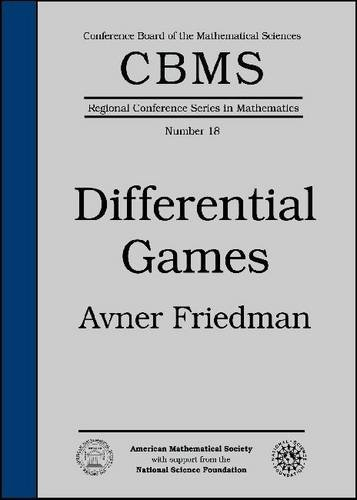 9780821838792: Differential Games (CBMS Regional Conference Series in Mathematics)