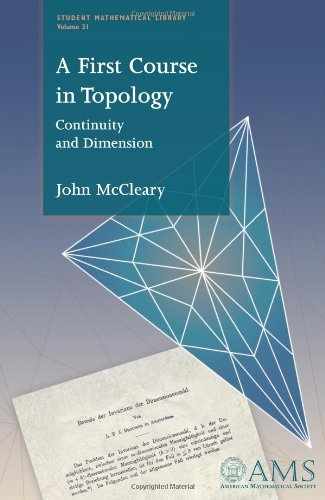 9780821838846: A First Course in Topology: Continuity and Dimension (Student Mathematical Library)