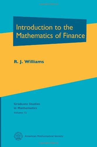 9780821839034: Introduction to the Mathematics of Finance (Graduate Studies in Mathematics, Vol. 72)