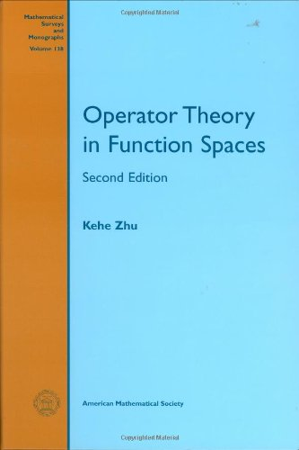9780821839652: Operator Theory in Function Spaces: Second Edition (Mathematical Surveys and Monographs)