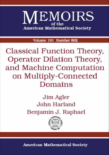 Classical Function Theory, Operator Dilation Theory, and: Jim Agler; John
