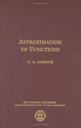 9780821840504: Approximation of Functions (AMS Chelsea Publishing)