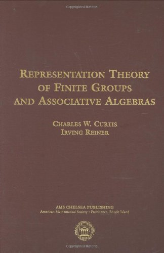 9780821840665: Representation Theory of Finite Groups and Associative Algebras
