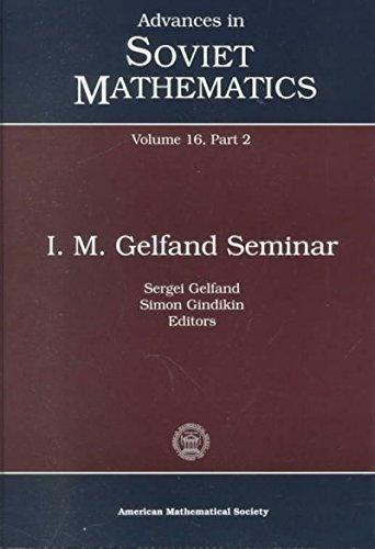 I.M. Gelfand Seminar ( Vol. 16, Part 2)