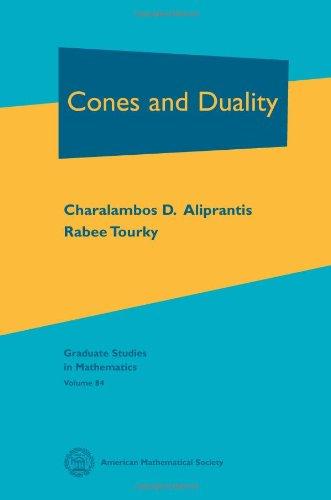9780821841464: Cones and Duality (Graduate Studies in Mathematics)