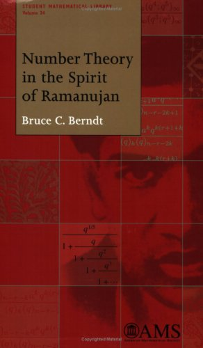 9780821841785: Number Theory in the Spirit of Ramanujan