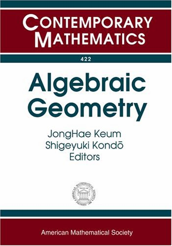 9780821842010: Algebraic Geometry (Contemporary Mathematics)