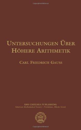 9780821842133: Untersuchungen Uber Hohere Arithmetik (AMS Chelsea Publishing) (German Edition)