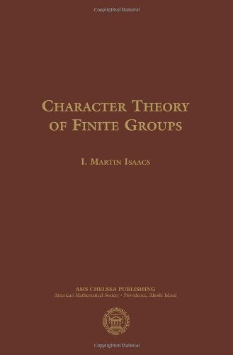 9780821842294: Character Theory of Finite Groups (AMS Chelsea Publishing)