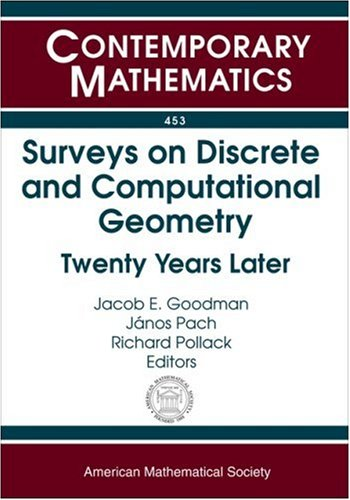 9780821842393: Surveys on Discrete and Computational Geometry: Twenty Years Later (Contemporary Mathematics)