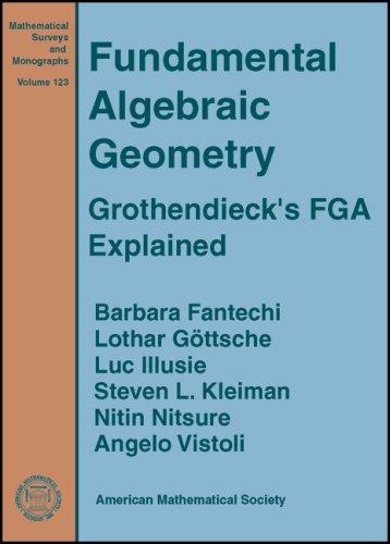 9780821842454: Fundamental Algebraic Geometry (Mathematical Surveys and Monographs) (Mathematical Surveys and Monographs Series (Sep.Title P)