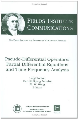 9780821842768: Pseudo-Differential Operators: Partial Differential Equations and Time-Frequency Analysis (Fields Institute Communications)