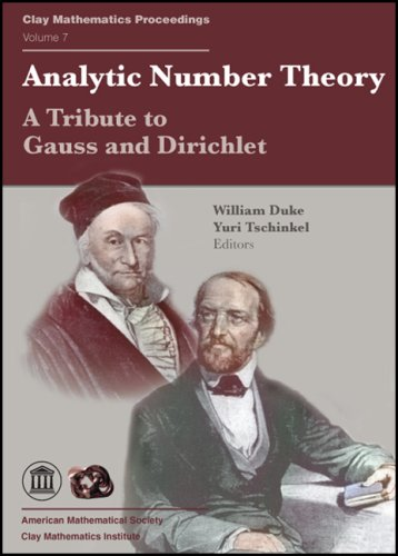 9780821843079: Analytic Number Theory: A Tribute to Gauss and Dirichlet (Clay Mathematics Proceedings, Vol. 7)