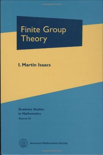 9780821843444: Finite Group Theory