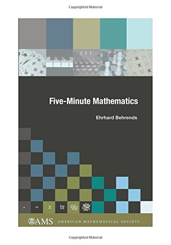 9780821843482: Five-Minute Mathematics