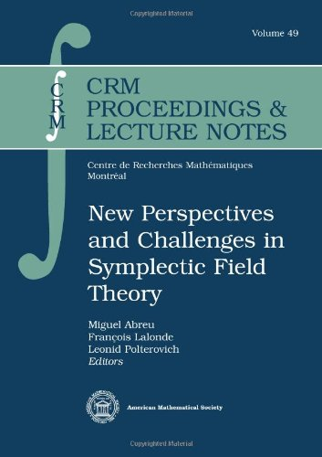 9780821843567: New Perspectives and Challenges in Symplectic Field Theory (Crm Proceedings and Lecture Notes)
