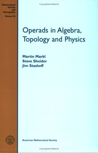 9780821843628: Operads in Algebra, Topology and Physics (Mathematical Surveys and Monographs)