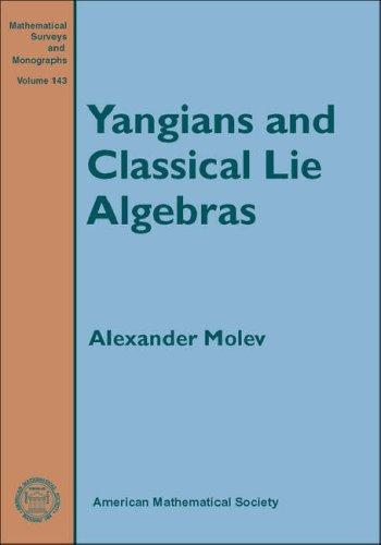 Yangians and Classical Lie Algebras (Mathematical Surveys and Monographs): Alexander Molev