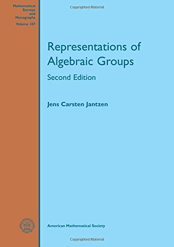 Representations of Algebraic Groups (Mathematical Surveys and Monographs)