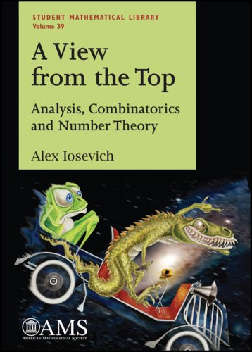 9780821843970: A View from the Top: Analysis, Combinatorics and Number Theory